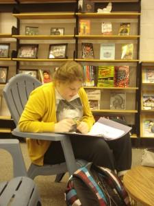 Charlotte reading